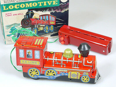 Marx J-9646 Toys Locomotive Dampflok Batterie Battery Japan Blech OVP 1402-21-33