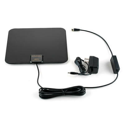 PrimeCables® Super thin indoor HDTV Antenna with Amplifier