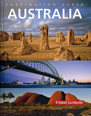 GeoGraphic, Australia Insight Fascinating Earth, Very Good Book