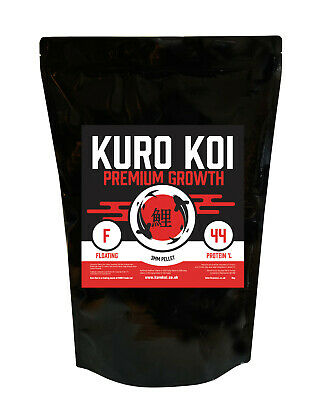 Premium Growth - Growth Koi Food Pellets - Kuro Koi