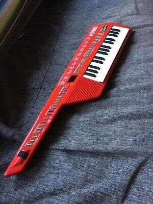 Keytar - YAMAHA SHS-1 1987 model, RED, excellent cond. midi controller + synth