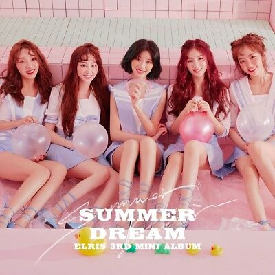 ELRIS - SUMMER DREAM CD+3Photocards+On Pack Poster+Tracking no.