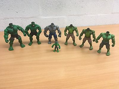 "The Hulk Figure Incredible 6"" 7"" Light Up Marvel You Choose"
