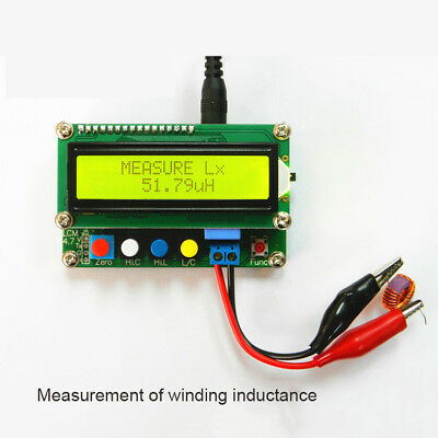 LC100-A LCD Digital High Precision Inductance Capacitance L/C Power Meter Tester