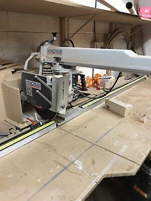 Stromab  Radial Arm Crosscut Saw 3 Phase