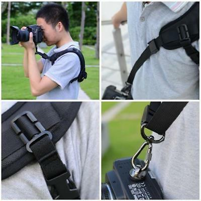 Quick Rapid Single Shoulder Sling Belt Neck Strap Adjustable For Camera SLR DSLR