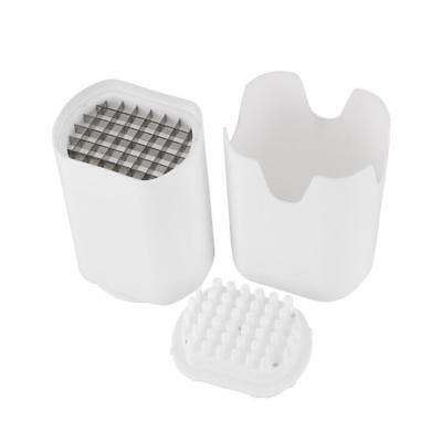 White Perfect Fries One Step Natural Fry Cutter Vegetable Fruit Durable Potato