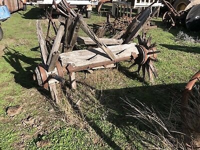 Old Garden Art Horse Drawn