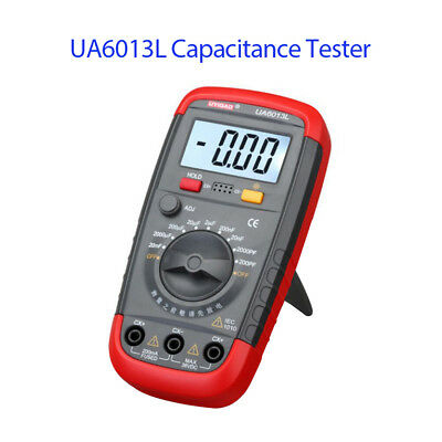 Pocket 6013 Digital LCD Capacitance Tester Multimeter Tool driven by battery New