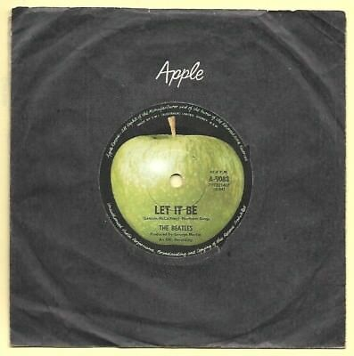 """The Beatles *let It Be/you Know My Name* Aussie 7"""" Lennon/mccartney/harrison"""