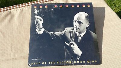 BOB NEWHART The Best Of The Button Down Mind Vintage Vinyl Record LP SEALED NEW