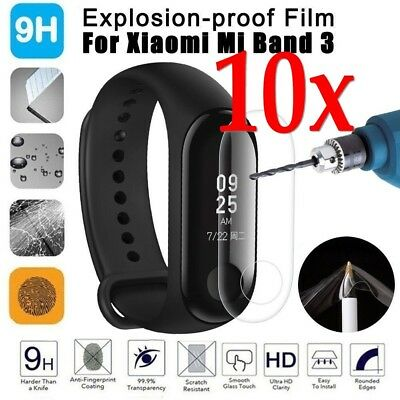 For Xiaomi Mi Band 3 Explosion-proof  Full cover HD Clear Screen Protector Films