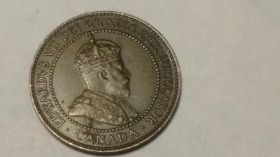 Canadian 1908 Large Cent - Free U.S. Shipping