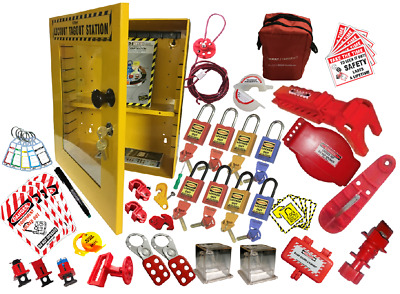 Krm Loto - Osha Lockout Tagout Maintenance Bag Kit - 4039 (Electro - Mech)
