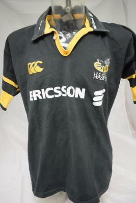 Mens London Wasps Rugby Union Shirt Size Large Lot E10