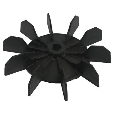 """Replacement 0.5"""" Inner Bore 10 Impeller Air Compressor Motor Fan Blade Blac Y2O7"""