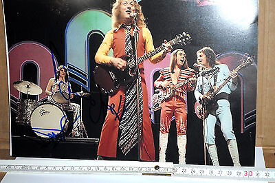 Original Autogramm - Slade; Don Powel & Dave Hill - A4 !