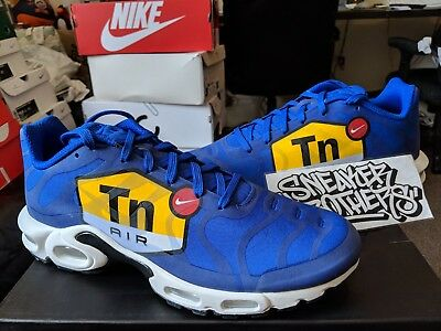 39a9b1f169 Nike Air Max Plus TN Tuned 1 NS GPX Big Logo Royal Blue Black White AJ7181
