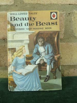 Vintage Ladybird book well loved tales Beauty and the Beast series 606D 40p #2