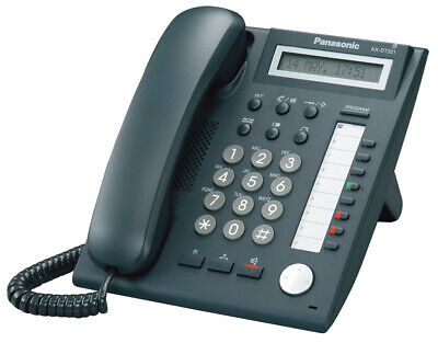 Panasonic KX-DT321UK-B Digital Telephone Black