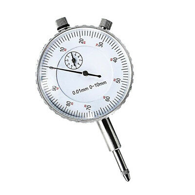 Professional 0-10mm Dial Indicator Gauge Meter Precision 0.01mm Dial Test