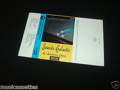 Sounds Galactic An Astromusical Odyssey New Zealand Unused Inlay Card