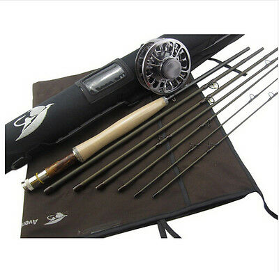 Aventik IM12 Japan High Fly rod 8'6'', 9'0'', 6sec Best Travelling Fly rod new