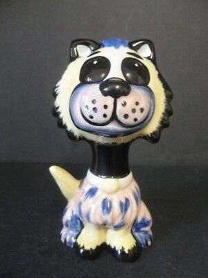 """Lorna Bailey """"muppet"""" Cat New Unused Hand Painted & Signed"""