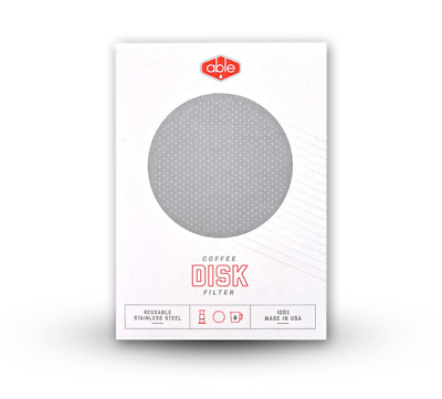 Able Stainless Steel Filter Disk for Aeropress