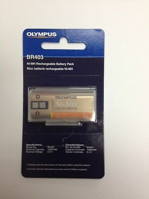 Olympus BR-403 Rechargable Battery for DS4000, DS5000 & DS3300 Digital Recorders