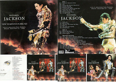 Michael Jackson New Years'eve In Brunei Rare Double Cd