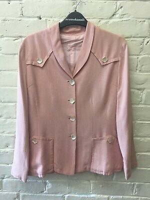 Vintage 40s Pink Jacket Shell Buttons