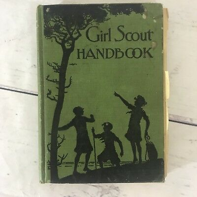 1930 Girl Scout Handbook Revised Edition FREE SHIPPING