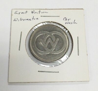 Wilcomatic Silvertone Car Wash Token