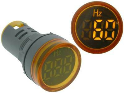 Frequency Meter Round 0-99Hz Yellow LED *35161 ME