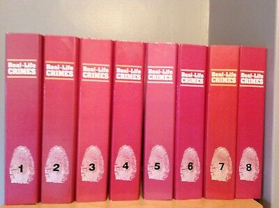 Real Life Crimes &how They Were Solved Magazines Complete Set 1-135 With Binders