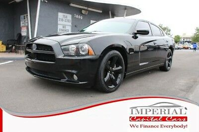 Charger R/T Plus Sedan 4D Dodge Charger BLACK with 90,907 Miles, for sale!