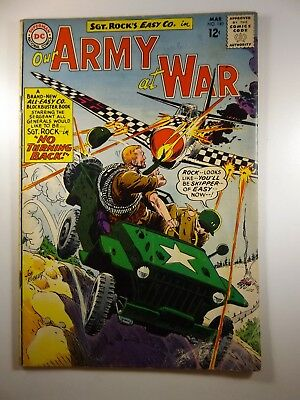 Our Army At War #140 Starring Sgt Rock!! VG- Condition!