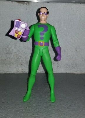 Dc Direct Super Friends!the Riddler Deluxe Action Figure Loose Mind Device