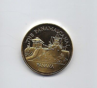 Panama Canal Zone  Encyclopedia Britannica medal 38mm