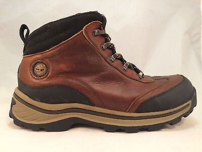 TIMBERLAND BROWN ANKLE Trail Hiking Boots Youth Kids Boys