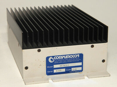 PARKER COMPUMOTOR M57-83-11 STEPPER STEPPING MOTOR DRIVER w/ POWER SUPPLY