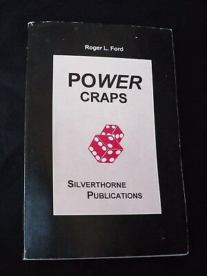 POWER CRAPS by Roger L Ford Silverthorne Publications Dice Casino Strategy Guide