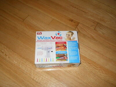 WaxVac ear cleaning kit (as seen on TV) new in box
