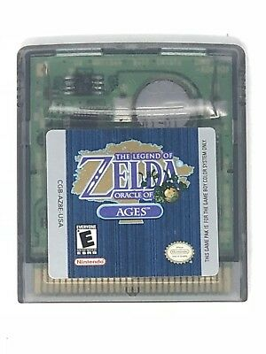 THE LEGEND OF ZELDA - ORACLE OF AGES Nintendo GameBoy Color Cartridge Only