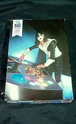 Vintage rare Kiss ace frehley MB puzzle