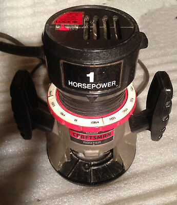 Craftsman Sears 1 HP Router 315.17551