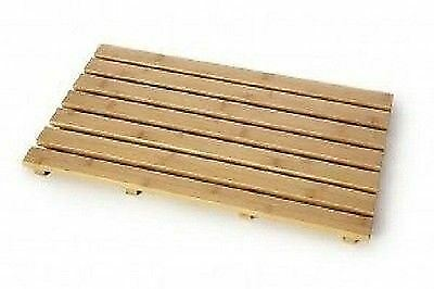 Blue Canyon Rectangular Slatted Bamboo Wooden Oblong Duck Board New
