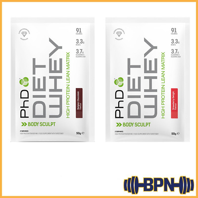 PhD Nutrition Diet Whey Protein 50g sachet/1kg Weight Loss Meal Replacement