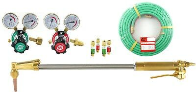 """SÜA 25"""" Heavy Duty Cutting Torch Set Compatible with Harris 50' Hose ACETYLENE"""